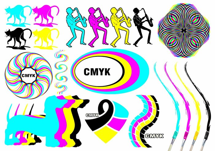 20 Cmyk PS Bürsten abr.Vol.11