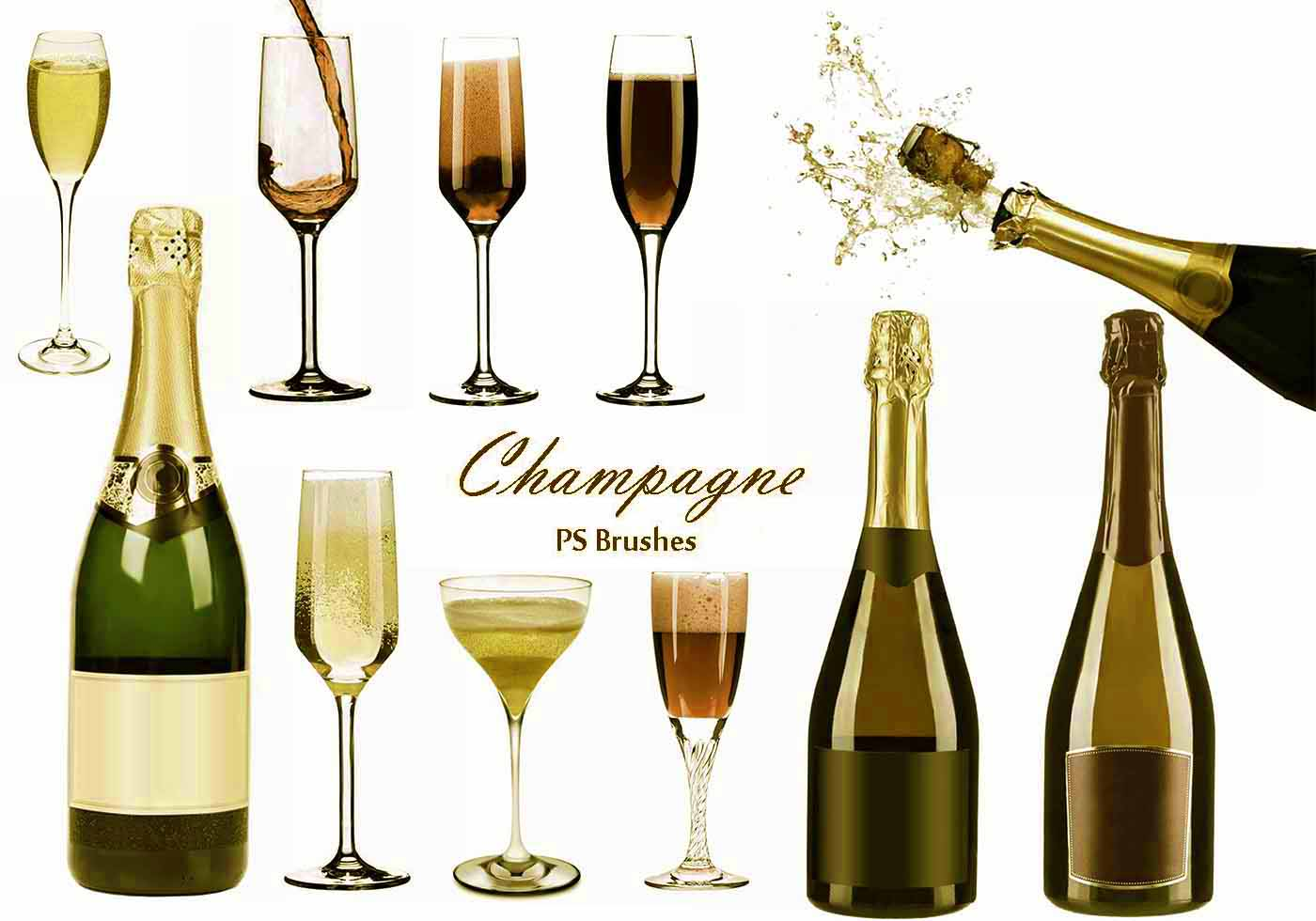 20 champagne ps brushes abr vol 7
