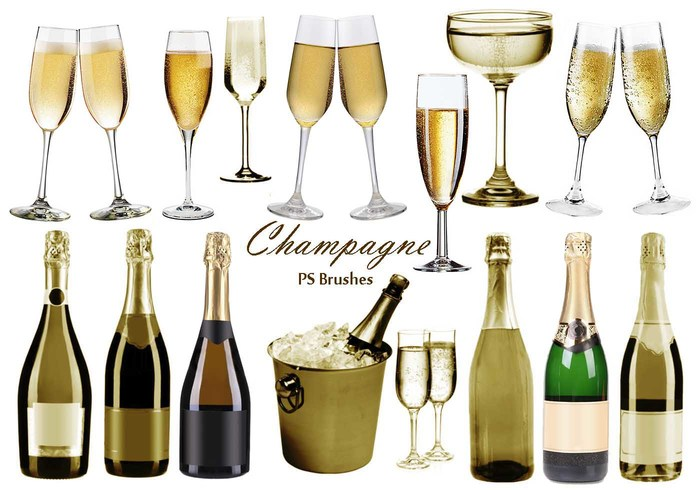 20 Champagner PS Bürsten abr.vol.6