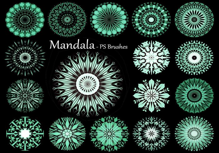 20 Mandala PS Pinceles abr. Vol.12