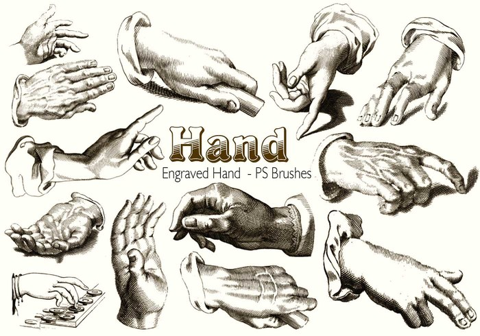 20 Hand PS Borstels ab. Vol.10