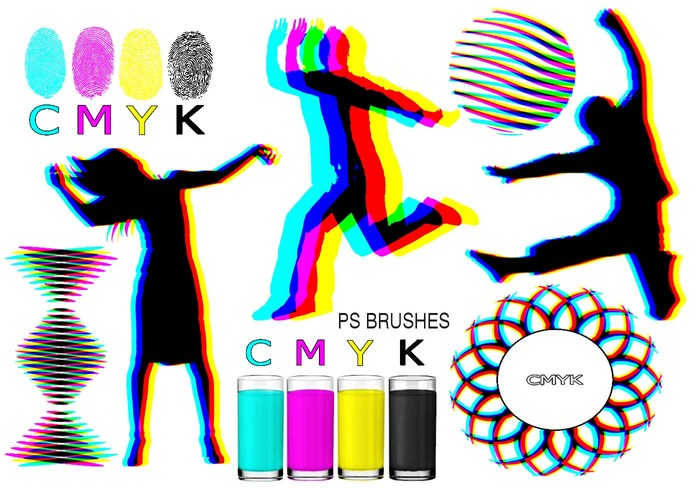 20 Cmyk PS Brushes abr.Vol.7