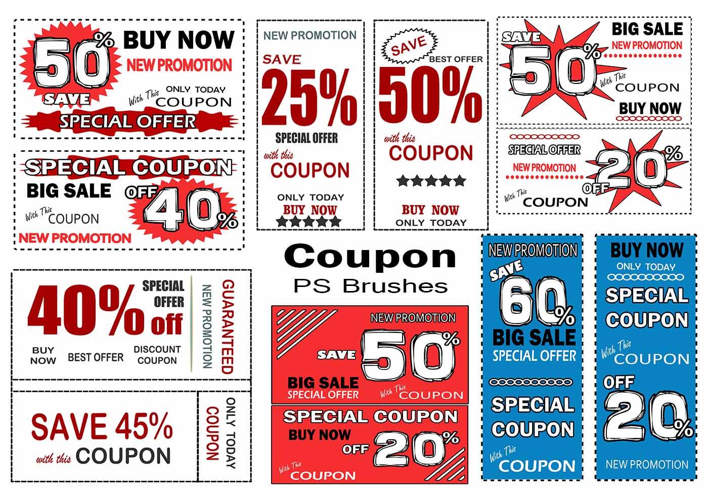 Free photoshop brushes coupon