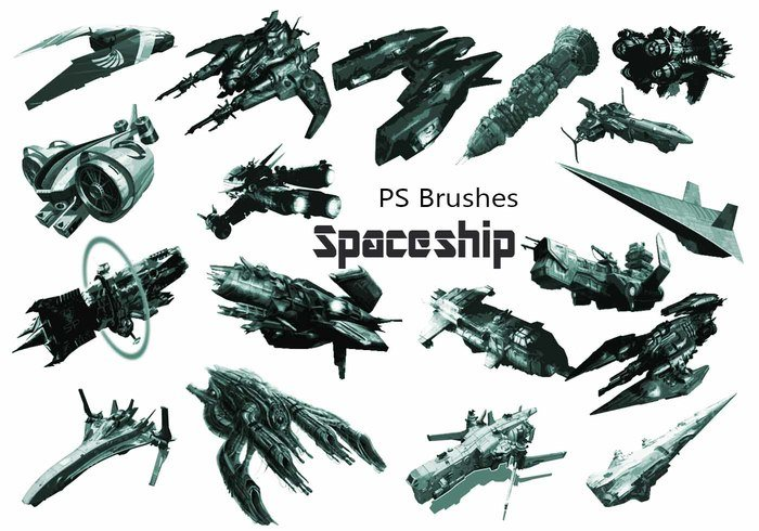 20 Brosses PS Spaceship abr. Vol.6