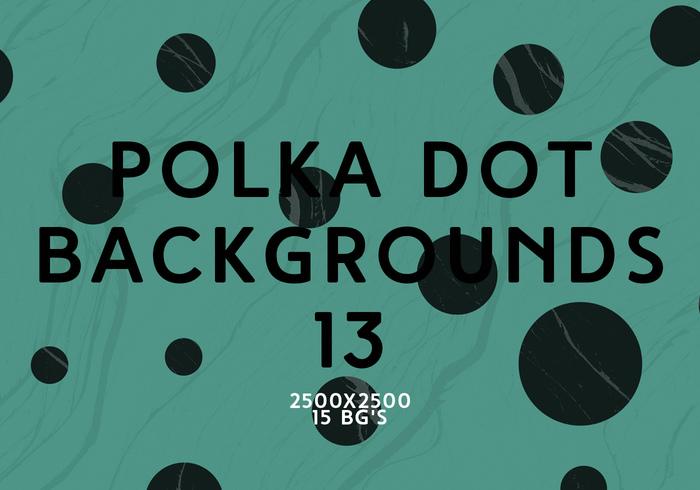 Polka Dot Bakgrunder 13