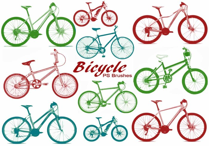 20 Bicycle PS Brushes abr.Vol.4