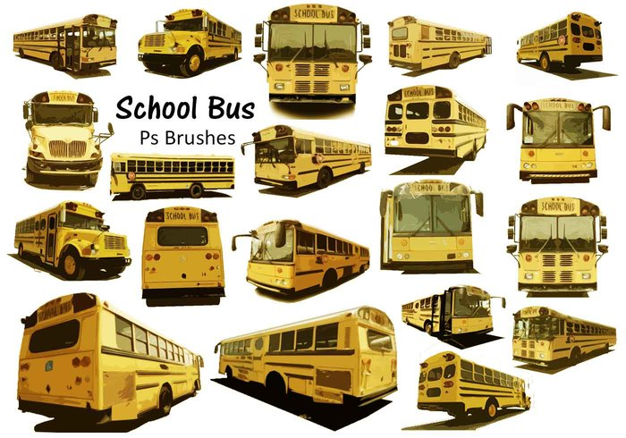 20 Schoolbus Ps Borstels abr. vol.7
