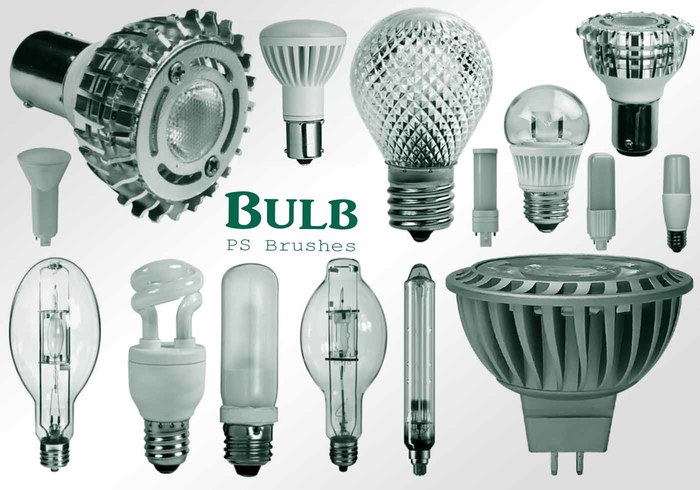 20 Bulb Ps Brushes abr. Vol.9