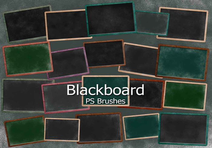 20 Blackboard Ps Brushes abr. vol.8