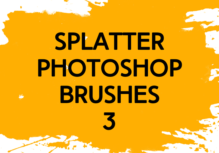 Splatter Photoshop Brushes 3