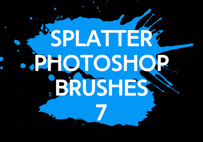 Splatter Photoshop Brushes 7