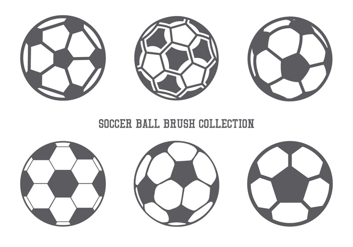 Collection Football / Soccer Brush