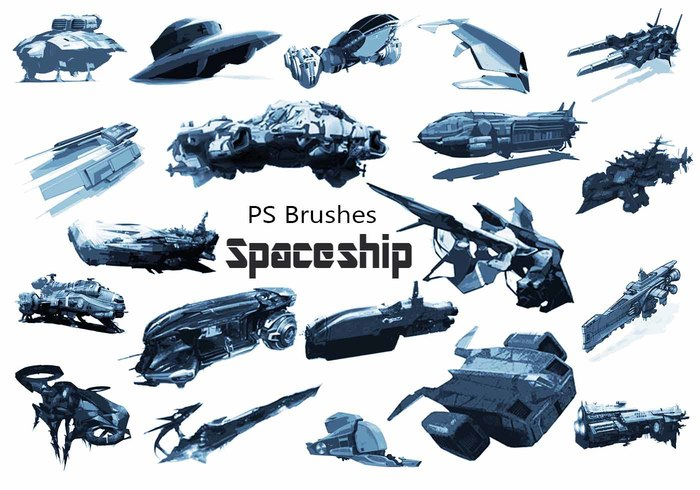 20 Spaceship PS Pinceles abr. Vol.5