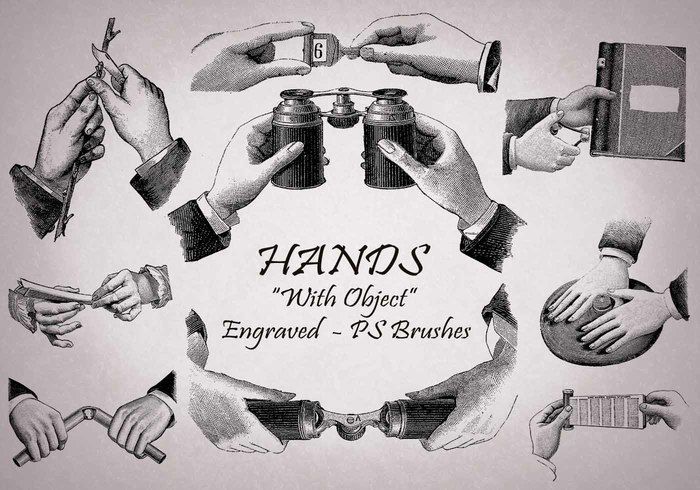 20 Hand PS Brushes abr.Vol.12