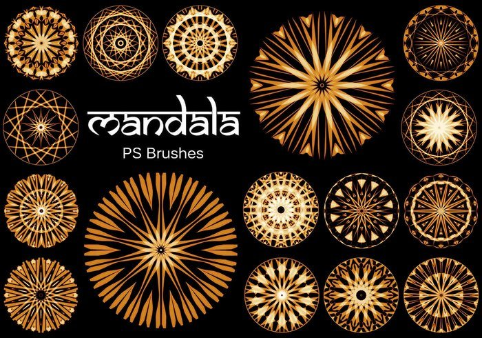 20 Mandala PS Pinceles abr. Vol.14