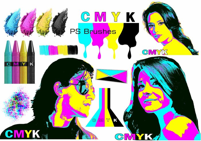 20 Cmyk PS Bürsten abr.Vol.18