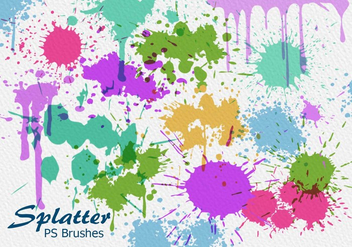 20 Splatter PS Bürsten abr vol.6