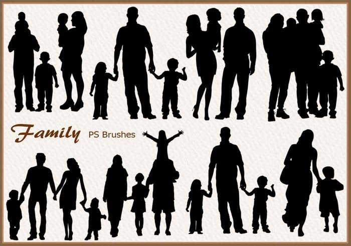 20 Family Silhouette PS Penslar abr.vol.3