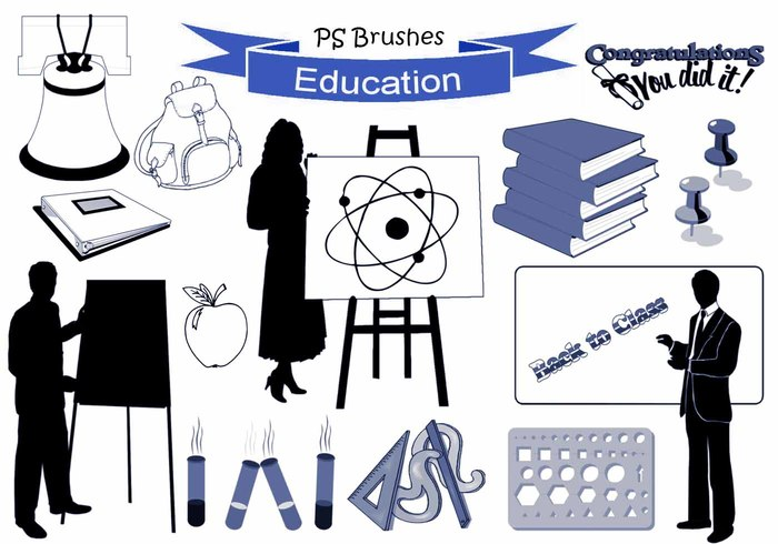 20 Education Ps Brushes abr. vol.15