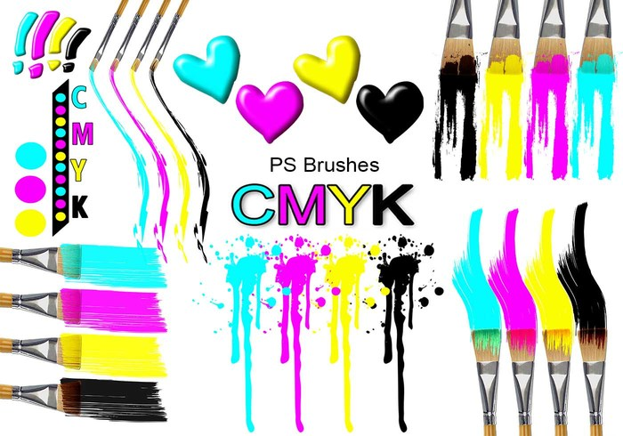 20 Cmyk PS Bürsten abr.Vol.19