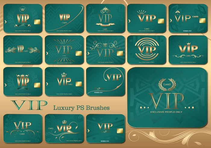 20 Vip Card PS Pinceles abr. Vol.5