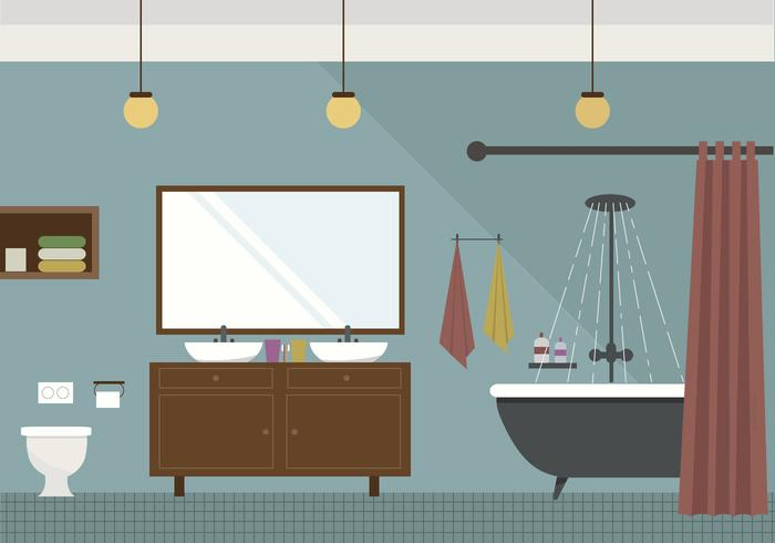 Vector Bathroom PSD