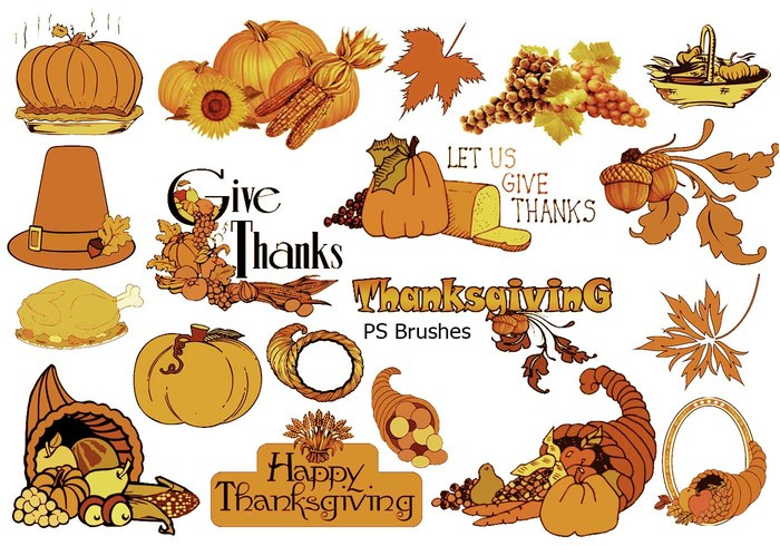 20 bourses de Thanksgiving ps brosses abr. vol.7