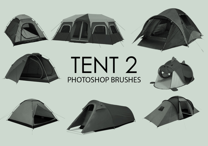escovas gratuitas do photoshop da tenda 2
