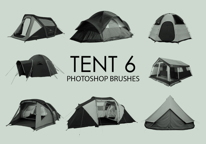 Gratis Tent Photoshop Borstels 6
