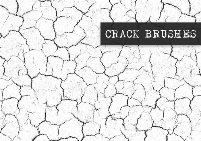 Hi Resolution Cracks Brushes Collection