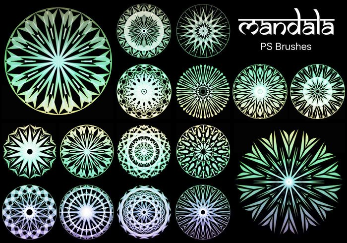 20 Mandala PS Bürsten abr. vol.16