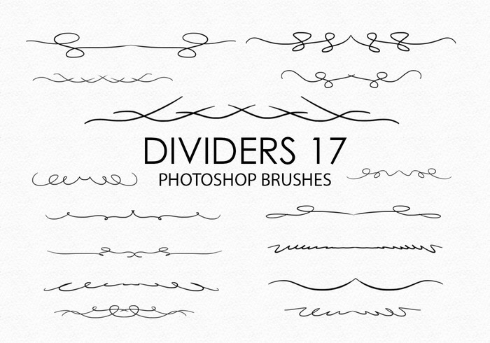 Free Divider Photoshop Brushes 17