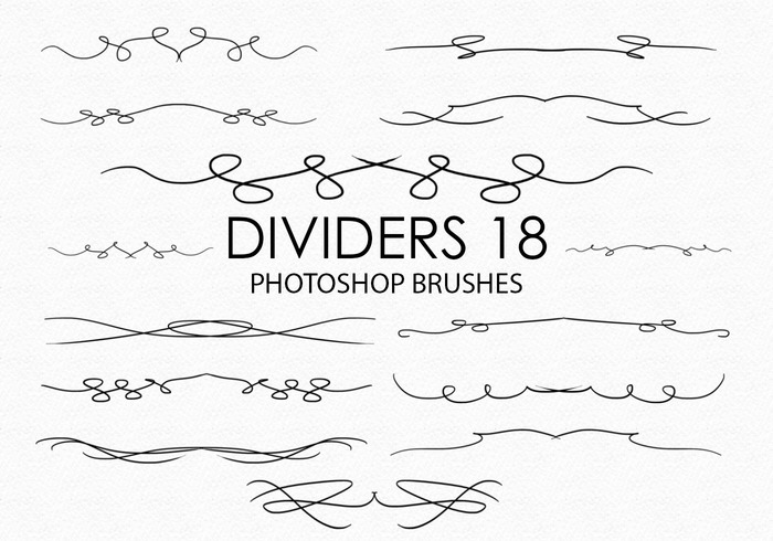 Gratis Divider Photoshop Borstels 17