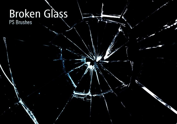 20 Broken Glass PS Brushes abr.vol.10 - Free Photoshop Brushes at Brusheezy!