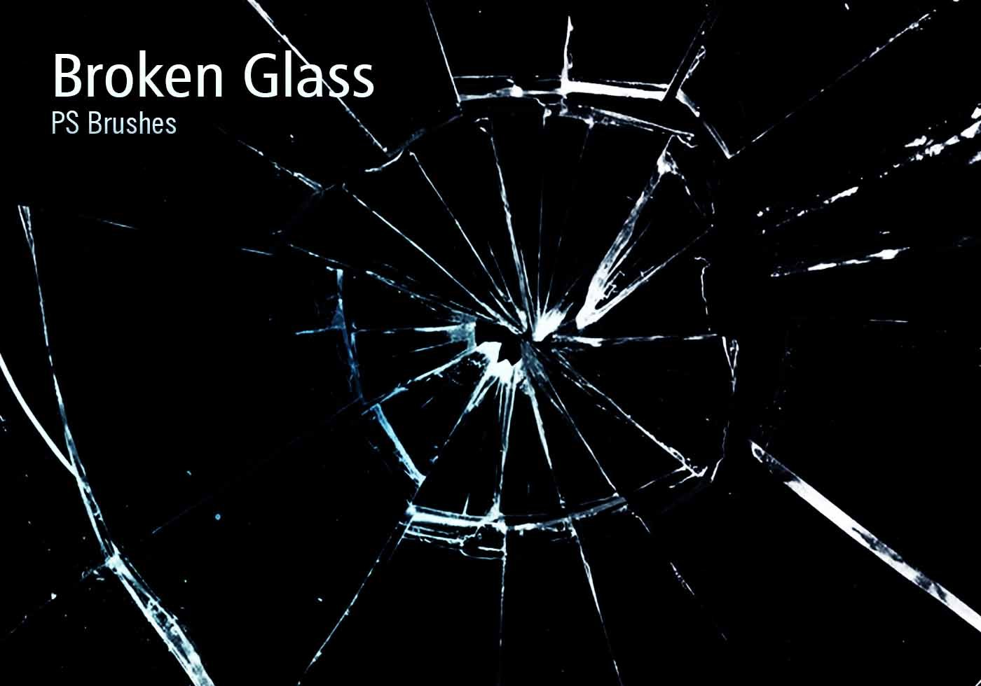 20 broken glass ps brushes abrvol10 free photoshop