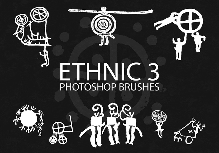 Free Ethnic Photoshop Brushes 3