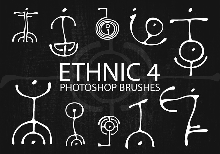 Free Ethnic Photoshop Brushes 4