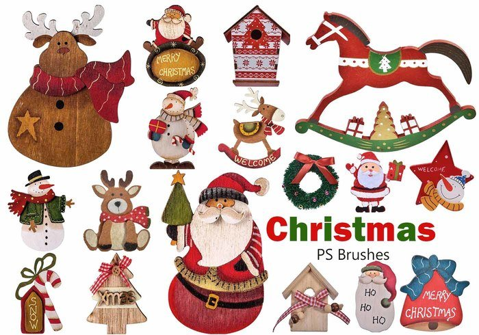 20 brosses de Noël PS abr. Vol.13