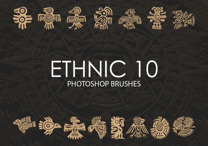 Free Ethnic Photoshop Brushes 10