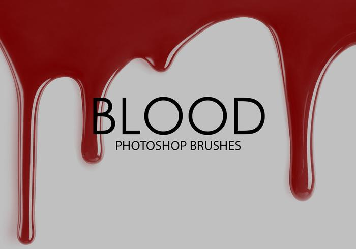 Free Blood Photoshop Brushes