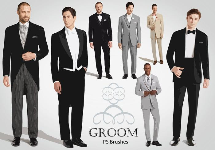 20 Groom PS Brushes abr. Vol.5
