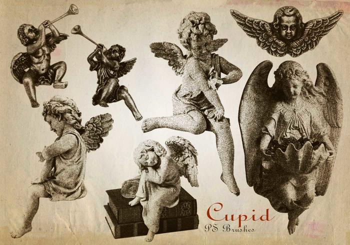 20 pinceles gravados Cupid PS abr. Vol.10