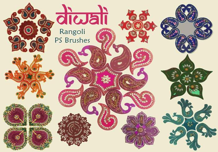 20 Diwali Rangoli PS Brosses abr. vol.9