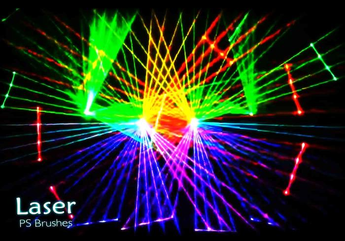 20 Laser Show PS Brushes abr. vol.21