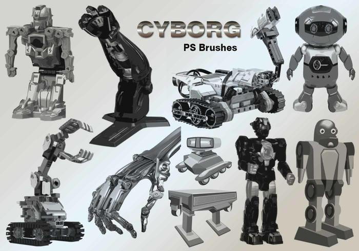 20 Cyborg PS Brushes abr.vol.6
