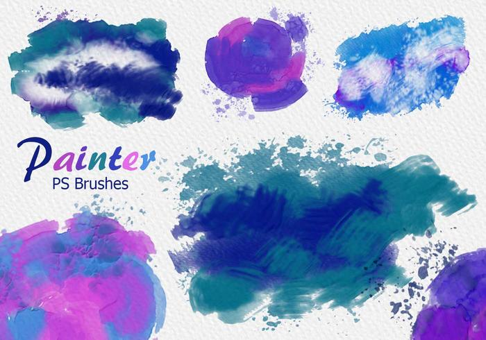 20 pintor PS Brushes abr.Vol.11