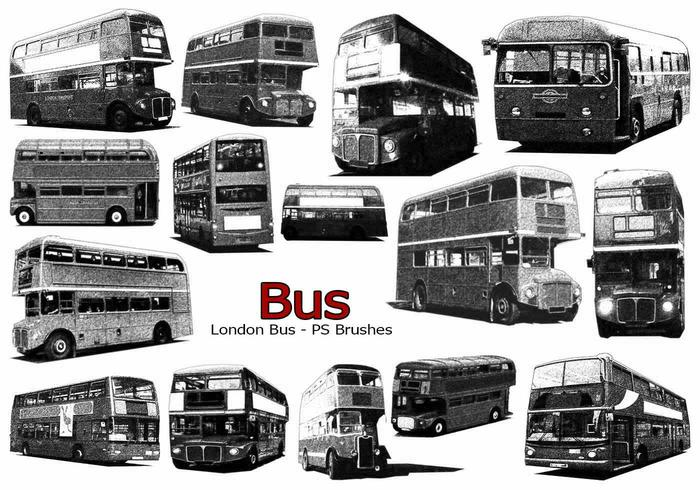 20 London Bus Ps brosses abr. vol.8