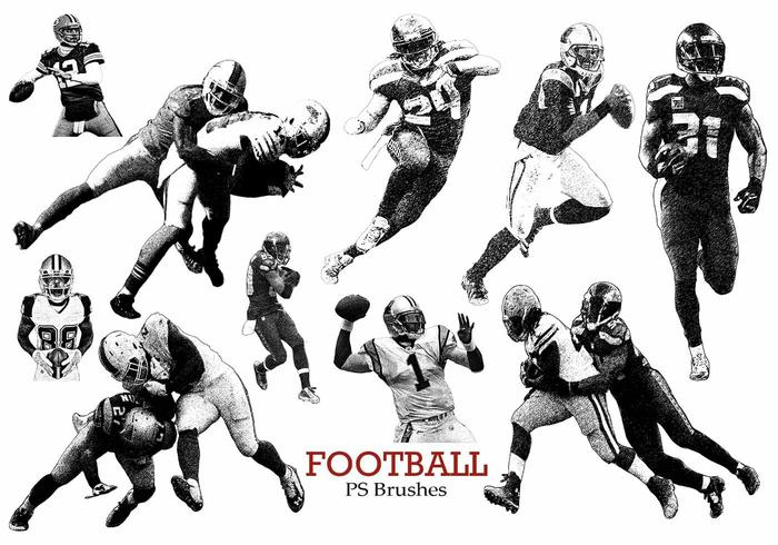 20 Football Ps Brushes abr. vol 13