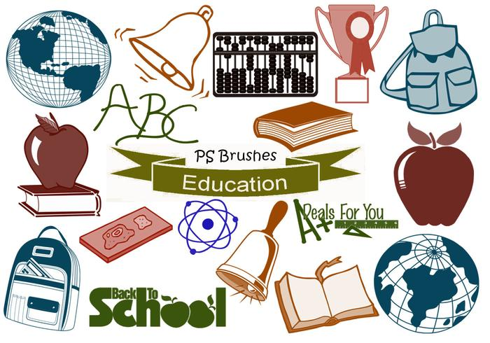 20 Education Ps Brushes abr. vol.18