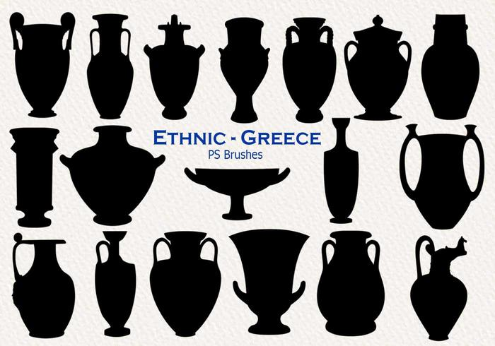 20 Ethnic Greece PS Brushes abr. vol.24